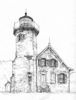 Lighthouse by Joilieder