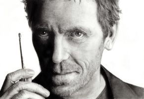 Dr House by kristinaorjala