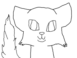 FREE! anime cat lineart* by biggywoot
