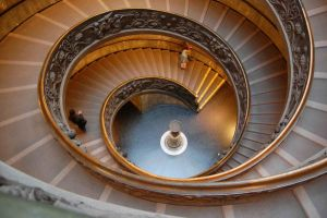 Vatican Museum Exit by flatsix911