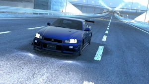 GT5 - Nissan Skyline R34 '02 by Kevster823