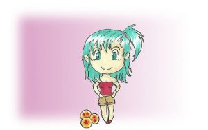 Young Bulma by ElfOfVirtue