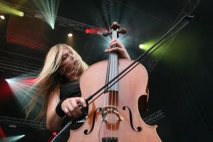 Apocalyptica, Eicca Toppinen by Knukkohed