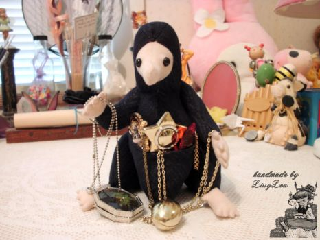 Niffler (inspired by the Harry Potter Series) #1 by handmadebylissylou