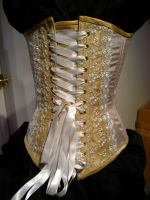 Back of Victorian Corset by volatilevisions
