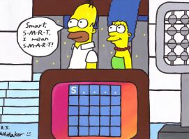 Homer and Marge on Lingo by DJgames