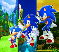 New Ages of Sonic the Hedgehog by 9029561