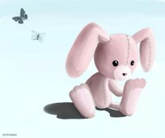Lonely Bunny by Paramnesia