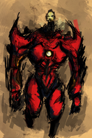 Android Iron Man by nicollearl