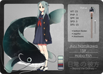 NNK: Aizu The Hobo Fish by kimitama