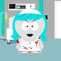 LIVING DEAD DOLLS IN SOUTH PARK NURSE NECRO by MAGANNEAL