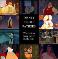 Disney Single Fathers by identity511