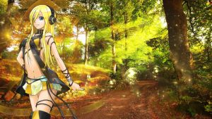 Lily Vocaloid Wallpaper Forest by RickyNexus