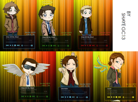 SPN + Itunes on Rainmeter by shayeGC13