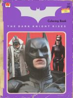 The Dark Knight Rises Coloring Book by Hartter