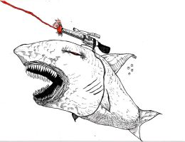 Lazer Shark by Whitsteen