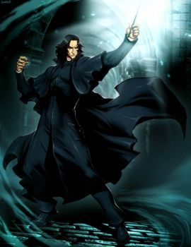Harry Potter - Severus Snape by GENZOMAN
