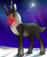 Rudolph - Quick Doodle by Tigryph