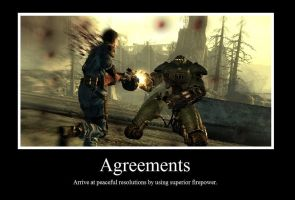 Agreements Motivational Poster by Gota115