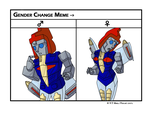 Swoop Gender bent by G1-Dinobot-Swoop