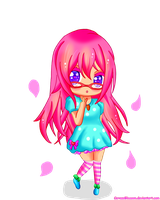 Cere-chan Chibi by CerezoBlossom