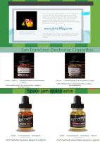 Electronic cigarette juice by Julliacarry