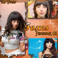 Photopack 01 Foxes by PhotopacksLiftMeUp