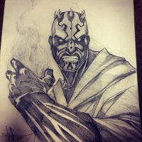 Darth Maul the Magician by ShawnCoss