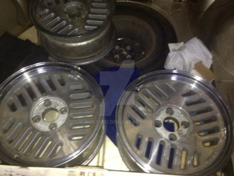 New rims ready to be fitted by wolf1193