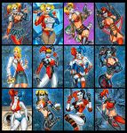 HARLEY QUINN 22ND ANNIVERSARY SKETCH CARDS by AHochrein2010