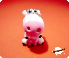 FIMO - cow by buzhandmade