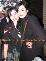 Me and Lindsey Way! by KatyChemical