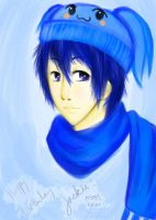 KAITO for Jackie by AnimeBrownie