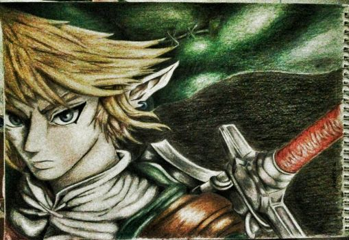 Link the Hero of time by Andrea15-Skywalker