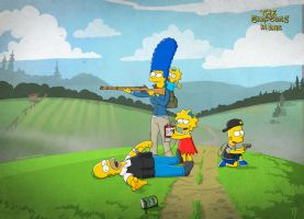Simpsons in DayZ by ThomasJakeRoss