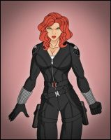 Black Widow by DraganD