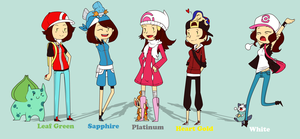 Nuzlocke Trainers by TilForeverEnds