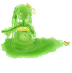 Slime Girl by yaoifangirlkatie