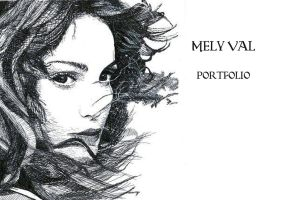 cover of my artbook by Mely-Val