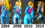 Zero Suit Samus's booty - from flab to fab by ShadowLord69