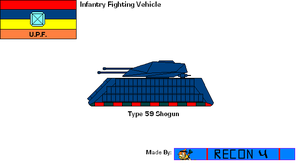 Starfox Hybird Ascension Profile: IFV/APC: Type 59 by BusterBuizel