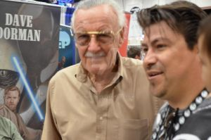Stan Lee and me by Vinktor