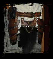 Berserk leather armor kit  -waist by Lagueuse