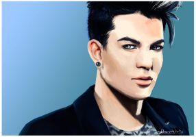 Adam Lambert to rebreb21 by May-Ya