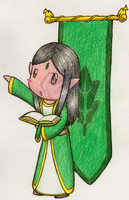 The Young Elf :CHIBI: by RikaArtistic