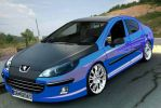 Peugeot 407 repaint by scorpion1069