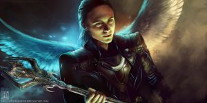 Loki - Asgardian Prince by EternaLegend