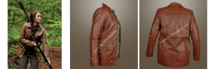 Hunger Games Faux PU Leather Jacket by hasankhan097
