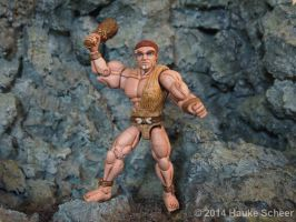 Caveman 3D printed Action Figure painted 02 by hauke3000