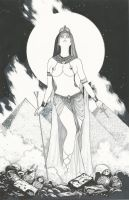 Nepthys Goddess of Death by Ace-Continuado